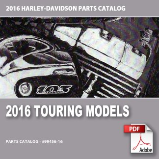 2016 Touring Models Parts Catalog