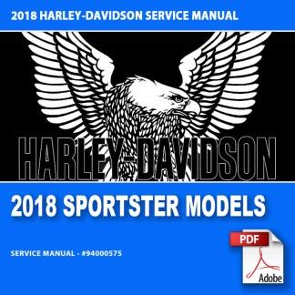 2018 Sportster Models Service Manual #94000575