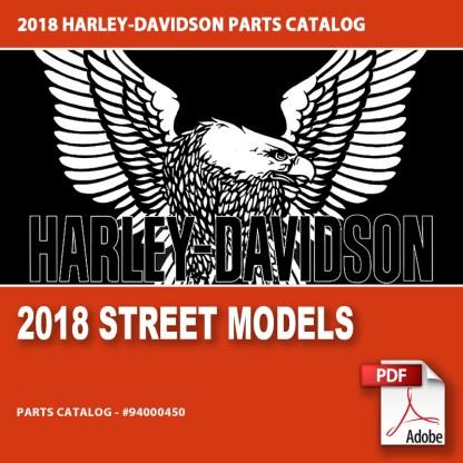 2018 Street Models Parts Catalog