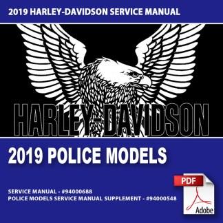 2019 Police Models Service Manual