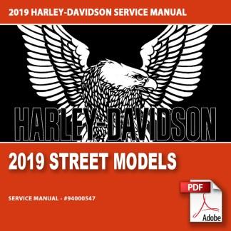 2019 Street Models Service Manual