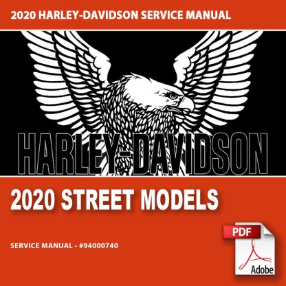 2020 Street Models Service Manual #94000740