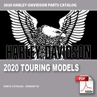 2020 Touring Models Parts Catalog #94000718