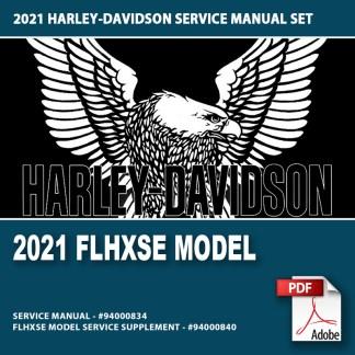 2021 FLHXSE Model Service Manual Supplement #94000840