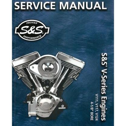 """S&S 4-1/8"""" V111, V117 & V124 Engines"""