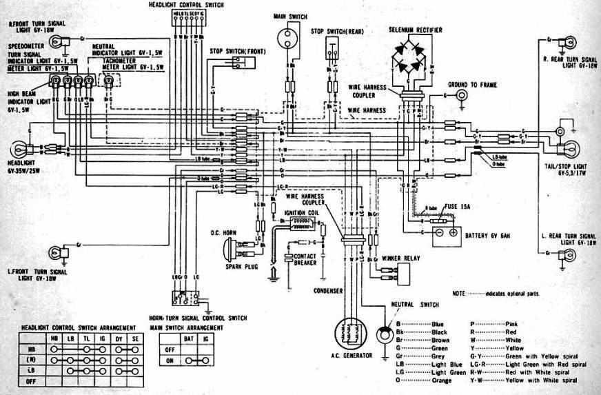 Hero Honda Splendor Plus Wiring Diagram