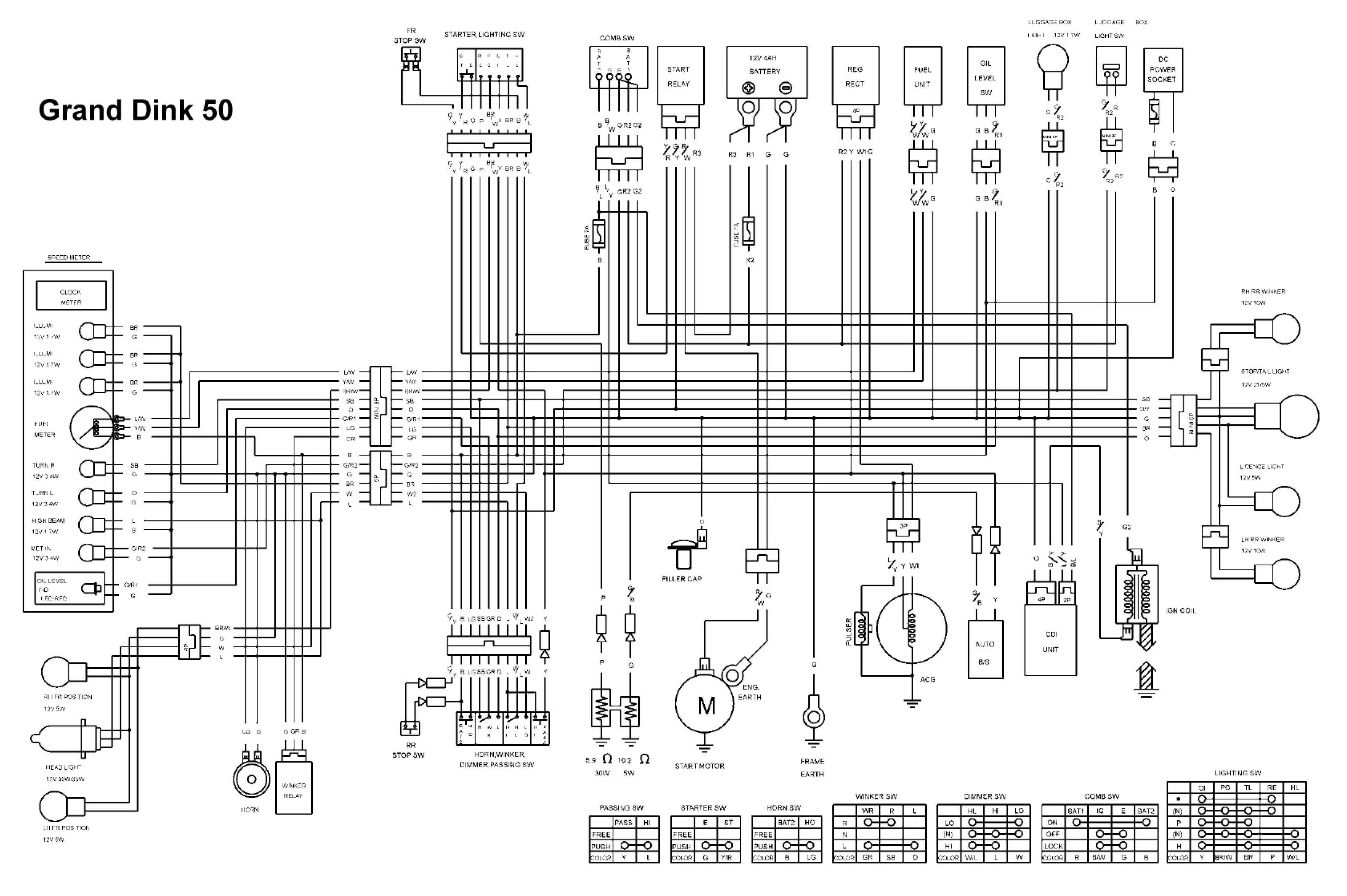 Baja Motorsports Wiring Diagram likewise Xr 400 Engine Diagram moreover Zongshen Wiring Diagram furthermore 86 Cc Loncin Atv Wiring Diagram moreover Pit Bike  26 Honda 50 2F70 Engine size. on chinese dirt bike wiring diagram
