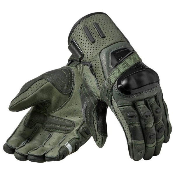 Motorcycle Gloves Leather Revit Cayenne
