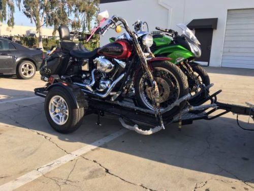 Ultra Tow Motorcycle Trailer Rail Kit