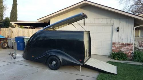 Excalibur Motorcycle Enclosed Trailer