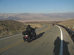 Death Valley Motorcyclists
