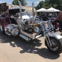 custom Truck conversion Motorcycle