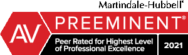 Peer Rated for Professional Excellence