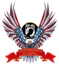 Rolling thunder eagle wings RWB POW-MIA Icon