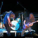 Skid Row Concert - two men shredding guitars