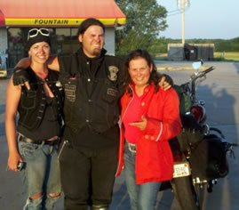 Miss Rider on Motoress