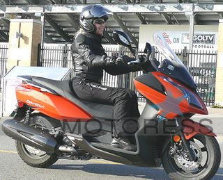 KYMCO 300i Scooter on Motoress