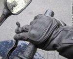 Gloves on Motoress