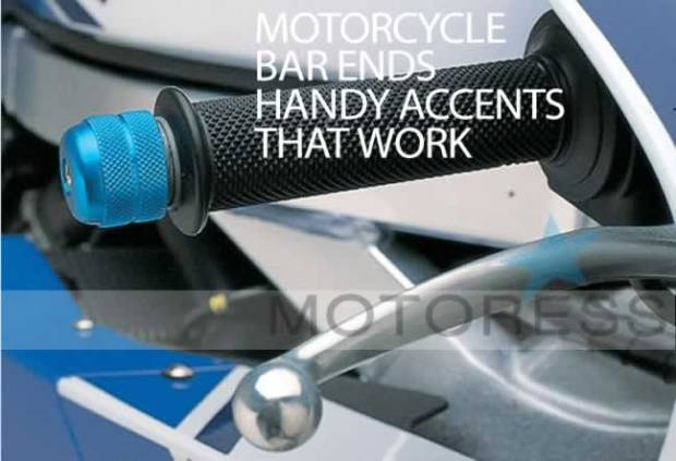Motorcycle Handlebar Ends Accents That Work on MOTORESS