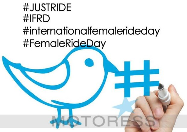 Hashtags for International Female Ride Day