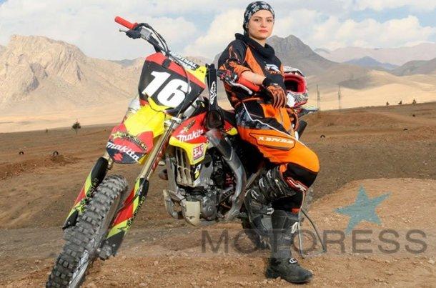 Behnaz Shafiei Changing Iran's Women And Motorcycles MOTORESS