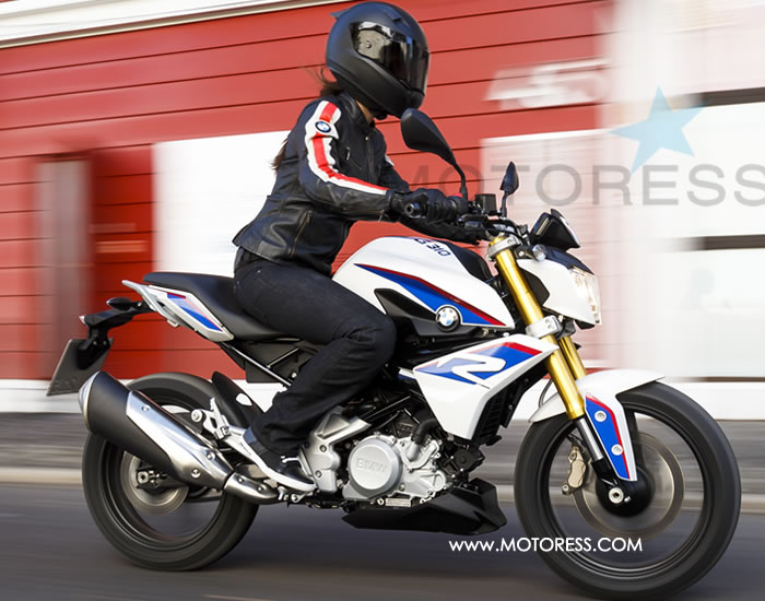 BMW G 310 R on MOTORESS