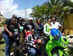 St Lucia Women Riders on MOTORESS