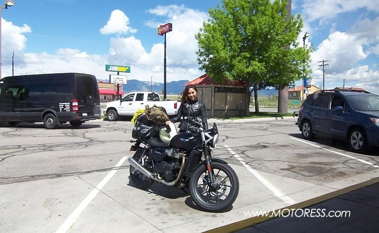 Solo Four Corner USA Motorcycle Journey