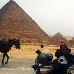 2017 International Female Ride Day Photo Contest Winner At Egyptian Pyramids