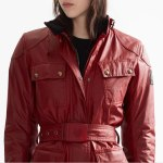 Classic Women's Belstaff Tourist Trophy Jacket Updated Features and Fit