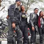 Female Bikers Initiative Riding Motorcycles to Saves Lives in Nigeria