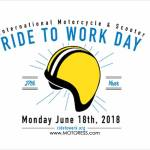 Ride To Work Day Monday 18 June