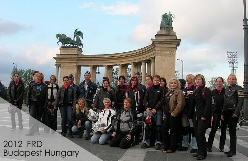 2012 Budapest International Female Ride Day Gallery on MOTORESS