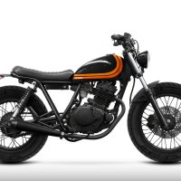 Bad Winners Suzuki GN 125 Scrambler, trés chic!