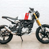 Smoked Garage BMW G310R Scrambler