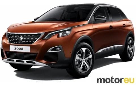 Peugeot 3008 Bluehdi 120 Hp 2016 2019 Mpg Wltp Fuel Consumption