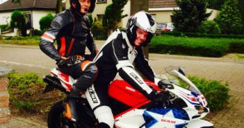 Ducati 848 nickey Hayden mijn eerste motor