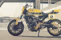Custom Yamaha MT09 Roland Sands
