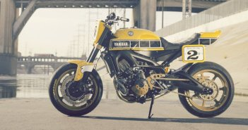 Custom Yamaha MT09 Roland Sands