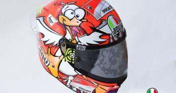 Iannone helm motogp
