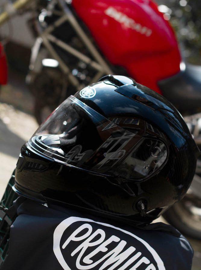 Premier Touran Carbon helm