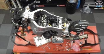 Building Franco Morbidelli's Kalex Moto2 bike