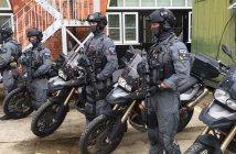 terrorism police BMW F800GS