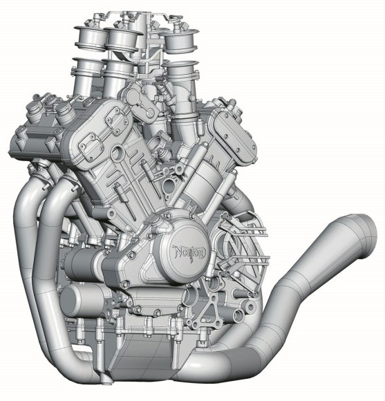 Norton V4 engine