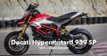 Ducati Hypermotard 939 SP review test