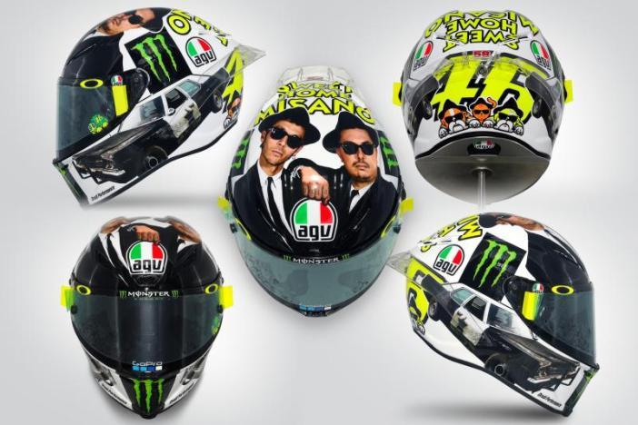 Rossi helm Misano 2016