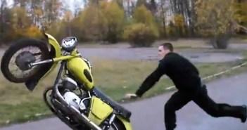 russian motorcylce failcompilation