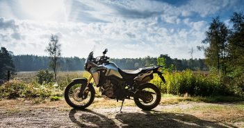 Honda Africa Twin CRF1000L 2016 test