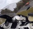 BMW S1000RR wordt geramd op nurburgring