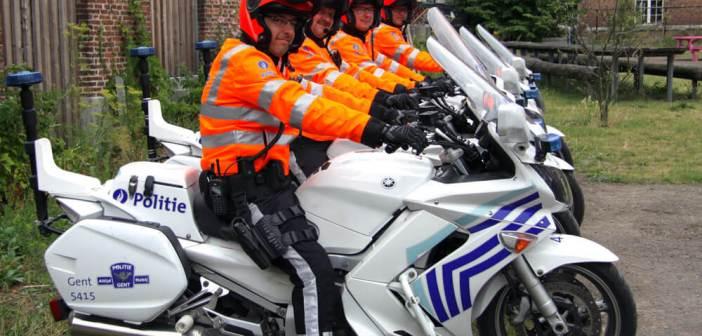Nieuwe outfit Belgische motoragenten